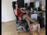 Foot goddess leyla - Nylon Stiletto Goddess.